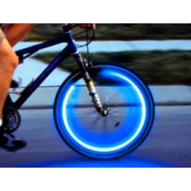 Svítící ventilky - modré, 2 ks