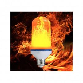LED žárovka imitující plamen