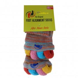 Adjustační ponožky Multicolor L (vel. 43+)