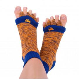 Adjustační ponožky Orange/Blue L (vel. 43+)