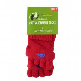 Adjustační ponožky Red L (vel. 43+)
