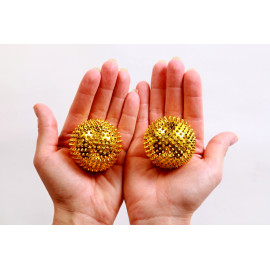 Akupresurní kuličky s magnety 4,5cm