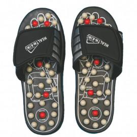 Akupresurní masážní pantofle s magnety L (42-44)