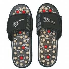 Akupresurní masážní pantofle s magnety S (38-39)