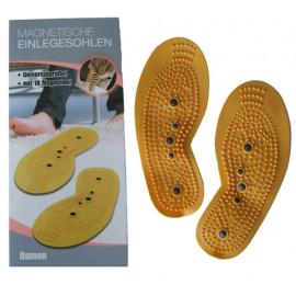 Akupresurní vložky do bot velikost UNI s magnety pánské