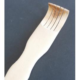 Bambusové drbátko s masážními válečky