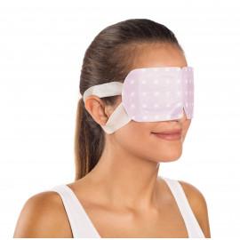 Hřejivá oční maska s vůní levandule - sada 5 ks