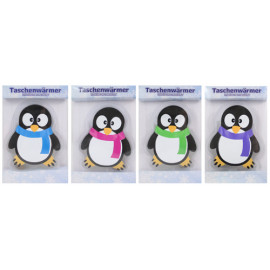 Hřejivý gelový polštářek Penguin Fialová