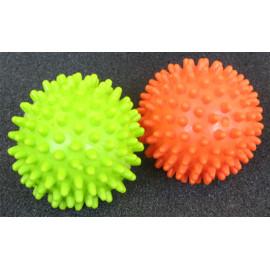 Masážní míček ježek 7 cm - oranžový