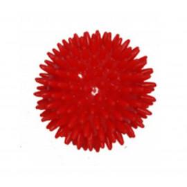 Masážní míček ježek 8 cm - červený