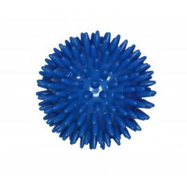 Masážní míček ježek 8 cm - modrý