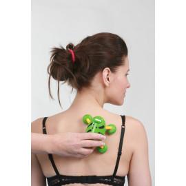 Masážní vibrační Brouk zelený