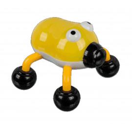 Masážní vibrační Brouk žlutý