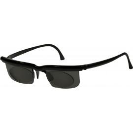 Nastavitelné dioptrické sluneční brýle Adlens, černé