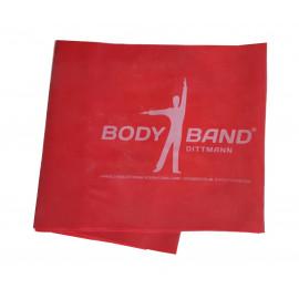 Posilovací guma Body-Band 2,5 m červená
