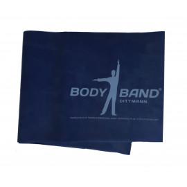 Posilovací guma Body-Band 2,5 m modrá