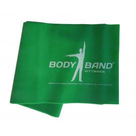 Posilovací guma Body-Band 2,5 m zelená