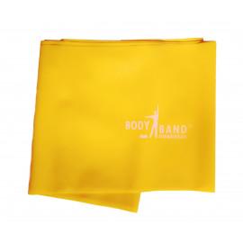 Posilovací guma Body-Band 2,5 m žlutá