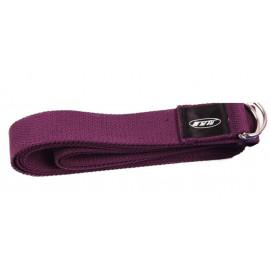 Přitahovací pásek Yoga Strap, fialový