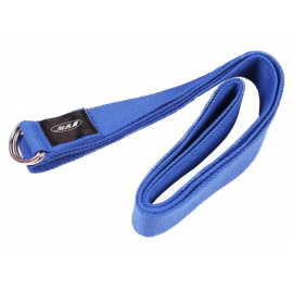 Přitahovací pásek Yoga Strap, modrý