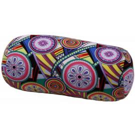 Relaxační polštář válec - abstraktní kolečka