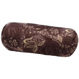 Relaxační polštář válec - hnědý