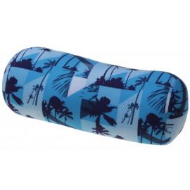 Relaxační polštář válec - modré palmy