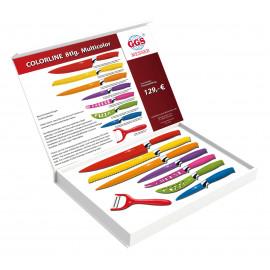 Sada kuchyňských nožů Multicolor 8 ks