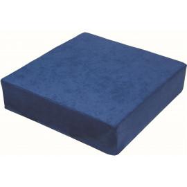 Zvýšený sedák 40 x 40 x 10 cm, modrý