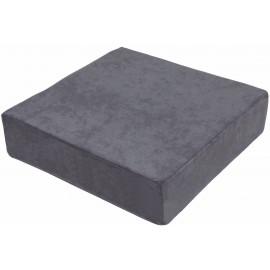 Zvýšený sedák 40 x 40 x 10 cm, šedý