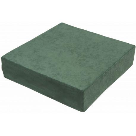 Zvýšený sedák 40 x 40 x 10 cm, zelený