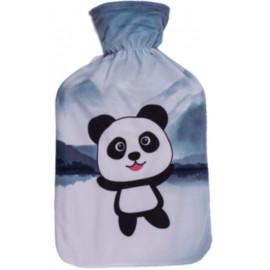 Termofor s fleecovým obalem Panda 1,7 l